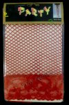 12Pair x Lace Fishnet Thigh High Party Stocking - Red