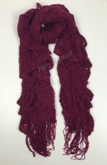 Bulk Lots 12x Ladies Warm Winter Soft Knit long Scarf-7 Cols ASS