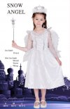 1 X New Girls Snow Angel Costume - Small Size