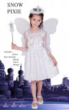 1 X New Girls Snow Pixie Costume - Small Size
