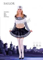 1 X New Ladies sexy sailor uniform costume- Small Size