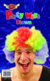 6 x New popular Large Multi- coloured Afro clown wig